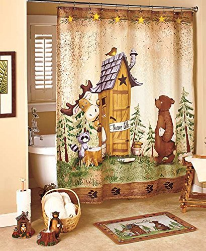 Beau GetSet2Save Nature Calls Shower Curtain