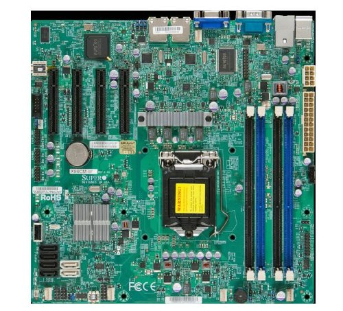 Supermicro DDR3 1600 LGA 1155 Server Motherboard X9SCM-IIF-O