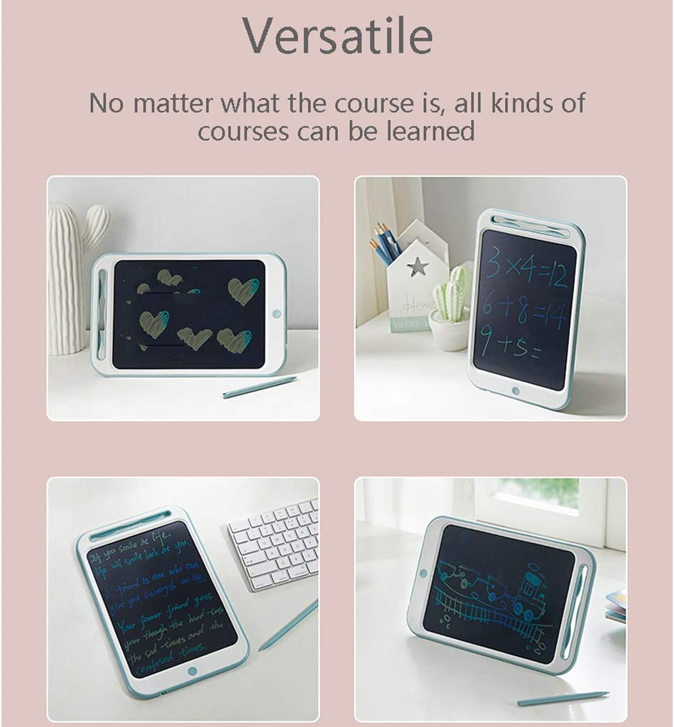 Portable Electronic Writing Board Drawing Board with Lock Switch for Kids Home School WHJ@ 10 Inch Colorful LCD Writing Tablet for Kids