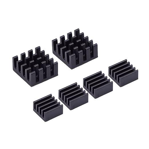 12 opinioni per Mudder Alluminio Dissipatore di Calore Raffreddamento Kit per Raspberry Pi 3, Pi