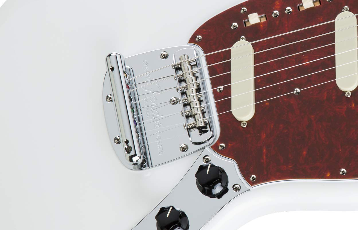 Amazon.com: Fender Mustang Tremolo Assembly - Chrome: Musical Instruments