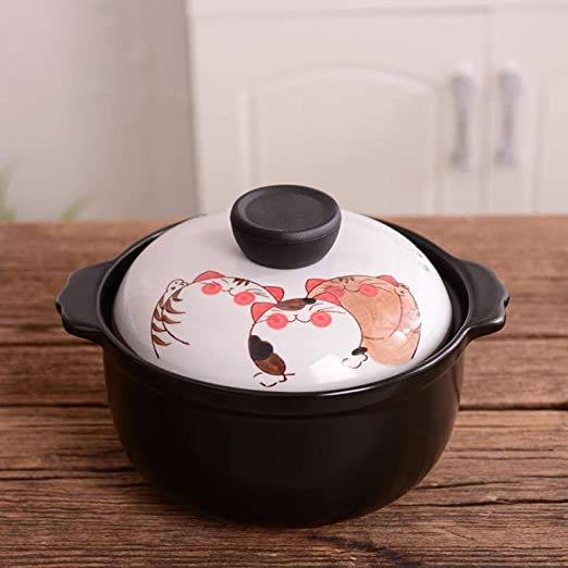 Olla de sopa de cerámica, cacerola japonesa de alta temperatura ...