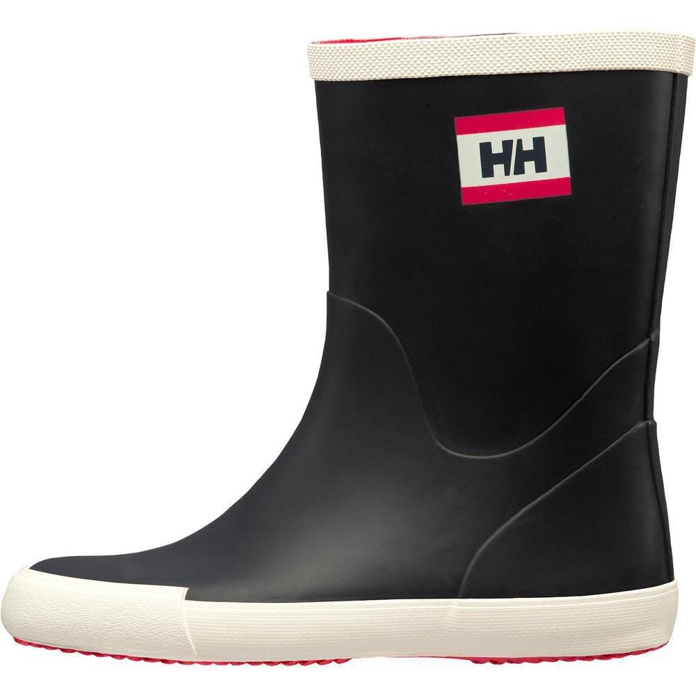 Helly Hansen Womens Waterproof Nordvik Lightweight Rain Boots, Navy/Off White/Magenta (Matte), 5