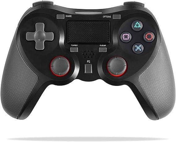 FONCBIEN Controlador Inalámbrico Playstation4, Controlador Inalámbrico Gamepads Manija del Juego Joypad con Los Botones De Activación Playstation 4 y Windows: Amazon.es: Electrónica