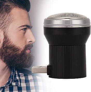 Afeitadora de barba, recortadora de barba portátil para hombres ...