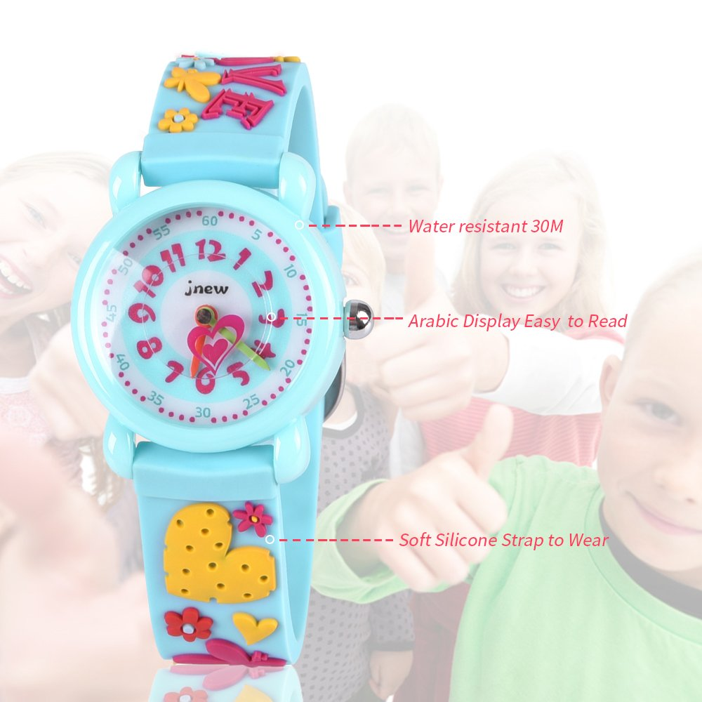 Gift for 3-10 Year Old Girls, Kids Watch for Kids Toy for 3-10 Year Old Girl Gift for Girl Age 3-10 Wristwatch Present for Birthday Little Girl Children by Kids Gift (Image #4)