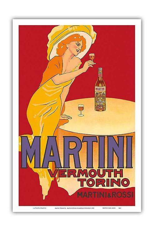 Kia Haop Martini Vermouth Martini & Rossi Metal Fender ...