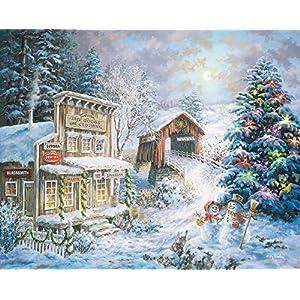Springbok Puzzles Country Christmas Store Jigsaw Puzzle 1000 Piece By Springbok