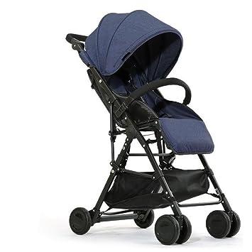 baby stroller Carrito Ligero Transpirable Plegable Carro De Bebé Bebé Niño Carro Puede Sentarse Paraguas Portátil Reclinable,2: Amazon.es: Deportes y aire ...