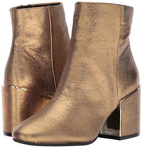 Kenneth Cole New York Women's Reeve 2 Block Heel Bootie with Metal Welt Ankle