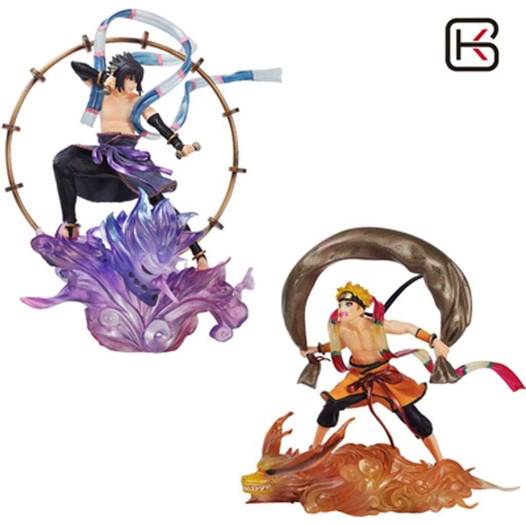 orden ahora con gran descuento y entrega gratuita DNSJB modelo de juguete Animado Animado Animado Juego de Naruto Juego de decoración de Oficina en casa Modelo (Color : C)  el precio más bajo