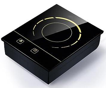 Cocina De Inducción Tienda Dedicada Cocina De Inducción Touch Square Caldera De Fuego: Amazon.es: Hogar