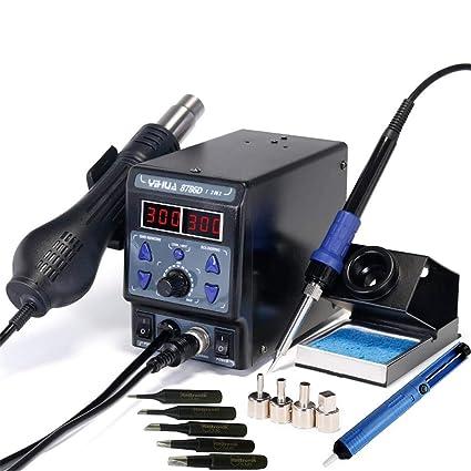Italtronik – Estación de soldadura Yihua 8786D I desoldadora de aire caliente profesional