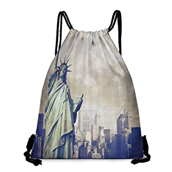 Amazon.com | Yoga backpack Usa Decor Urban Decor Design ...
