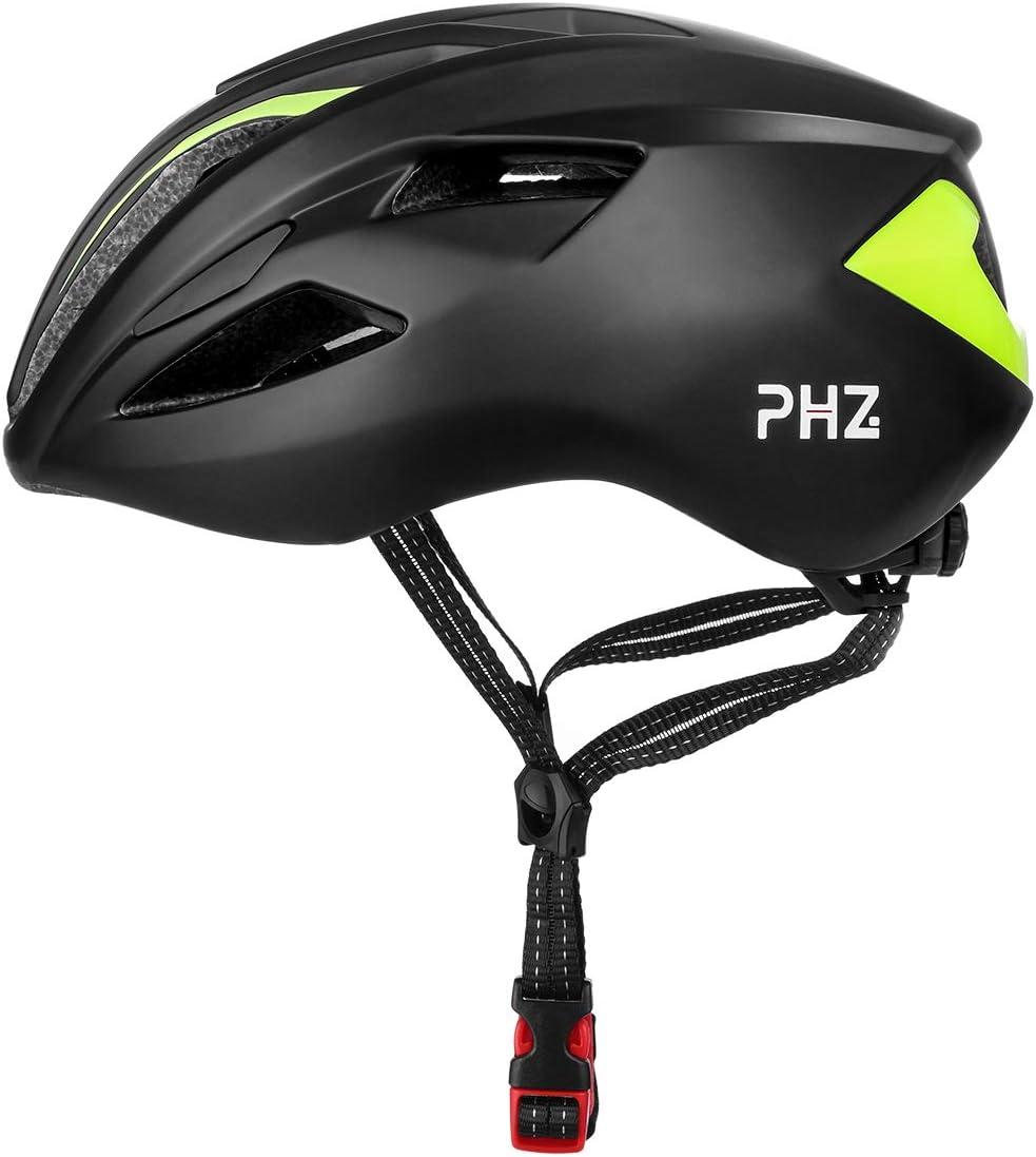 PHZING Casco de bicicleta ajustable ligero especializado hombres ...