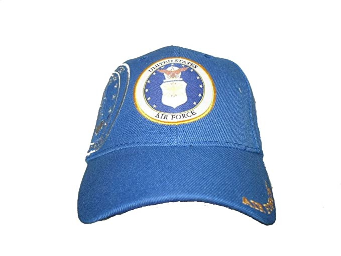 b3eba7199 RFCO Blue U.S. Air Force Emblem Active Duty Embroidered Baseball ...