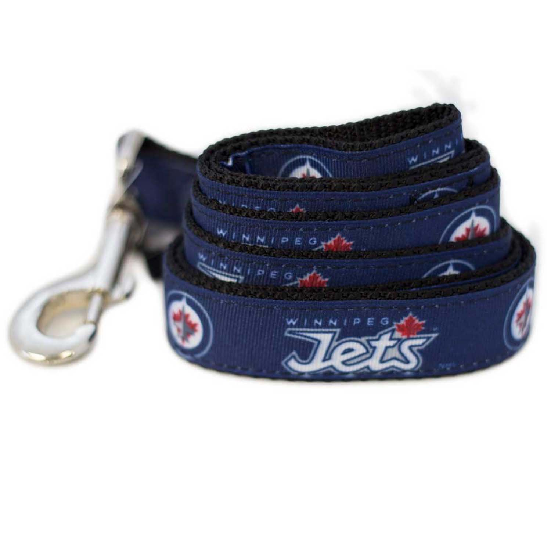All Star Dogs Winnipeg Jets Leash, Large (6-Inch)