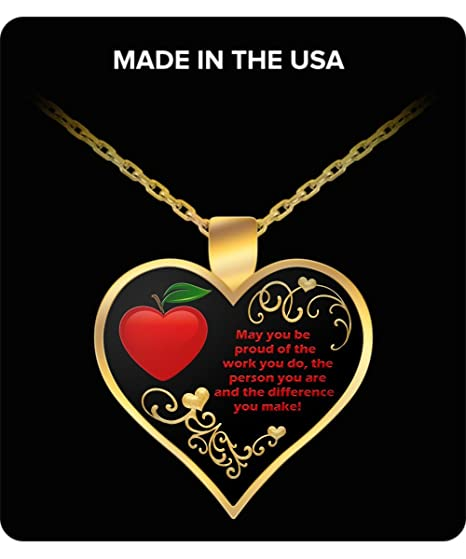 Amazon.com : Paraprofessional Necklace - Jewelry SpEd Gifts - Special Needs Autism Teacher Appreciation Gift Ideas : Sports & Outdoors