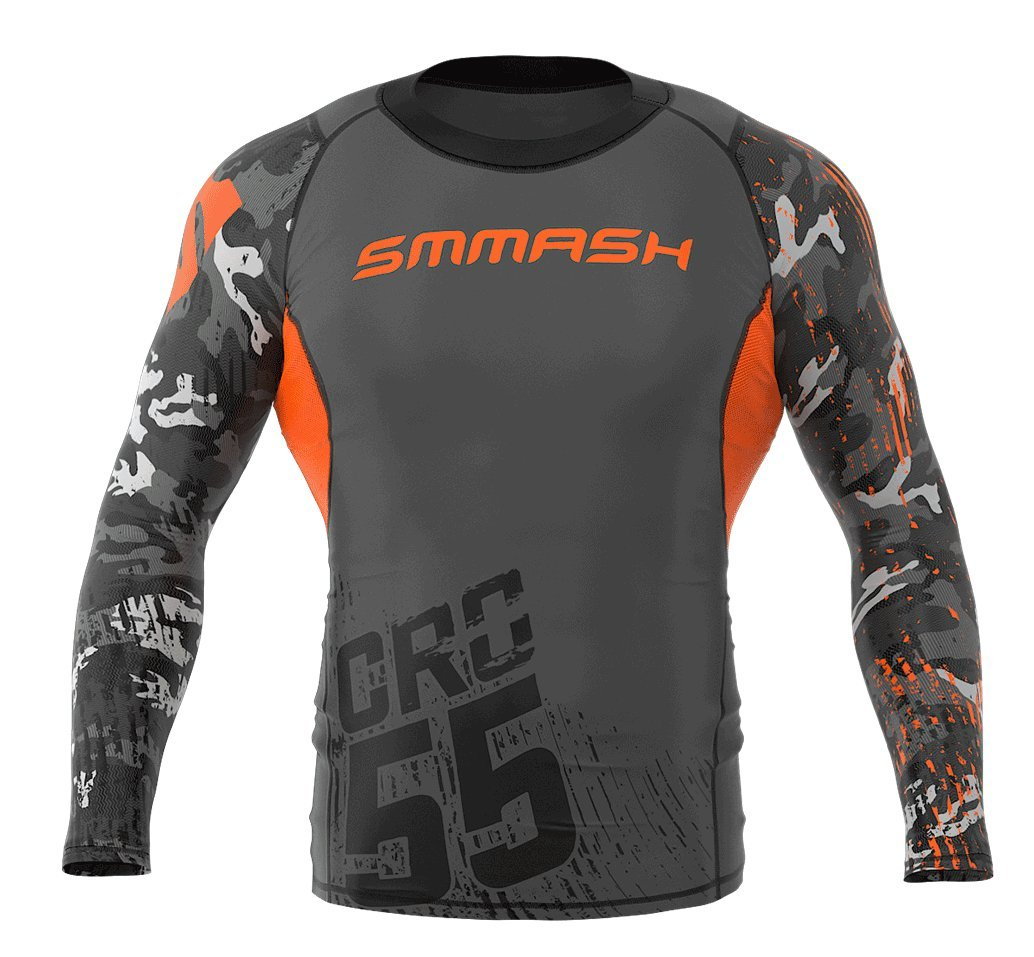 Image of SMMASH Long Sleeve Rashguard MORO