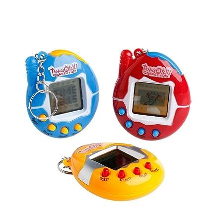 B_Mayshow Juguetes para niños Juegos de Video Juguetes para Mascotas Juguetes de Mano Llavero Juego de
