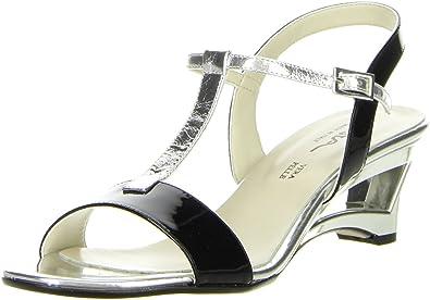 Vista Damen Sandaletten Sandalen Braun Größe:36 Farbe:braun