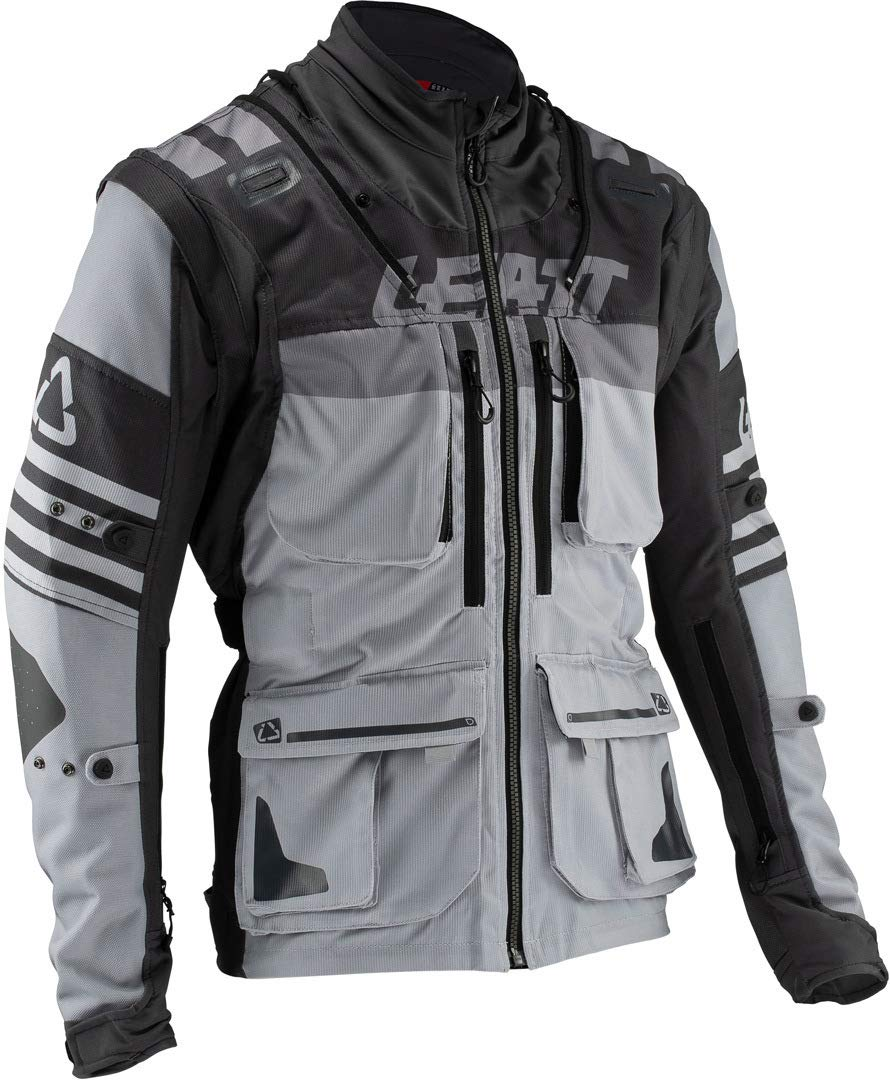 Leatt GPX 5.5 Enduro Riding Jacket-Steel-L 5019001122