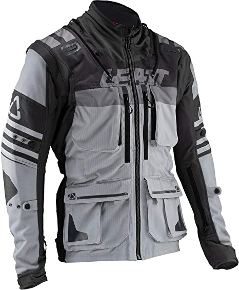 Leatt Brace GPX 5.5 Enduro Riding Jacket-Steel-L