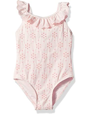 7a9e23e75f Little Me Children's Apparel Baby and Toddler Girls UPF 50+ One Piece  Swimsuit