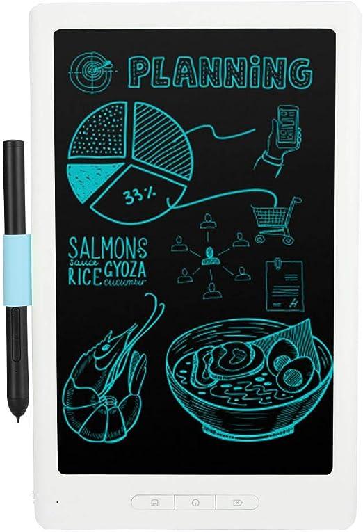 グラフィック描画ボード、8192レベル圧力Bluetooth 4.2 10インチライティングボード、タブレット用ワイヤレス描画タブレット