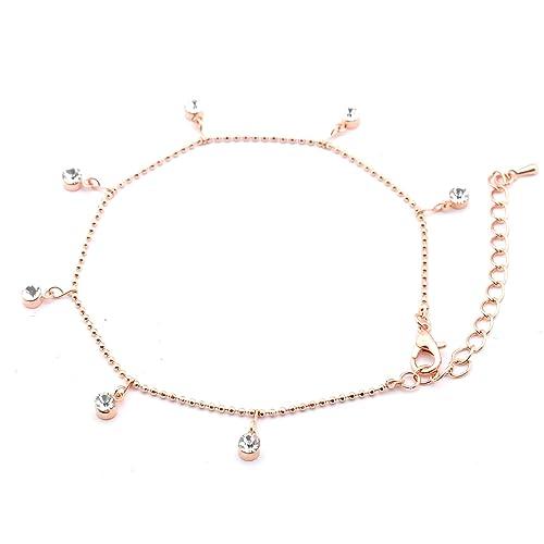 Topwholesalejewel Bridal Jewelry Rose Gold Plating Single
