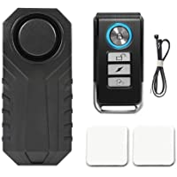 Soulitem 113dB sans fil antivol vibration moto vélo étanche sécurité vélo alarme avec télécommande