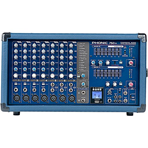 7 Channel Powered Mixer - 3