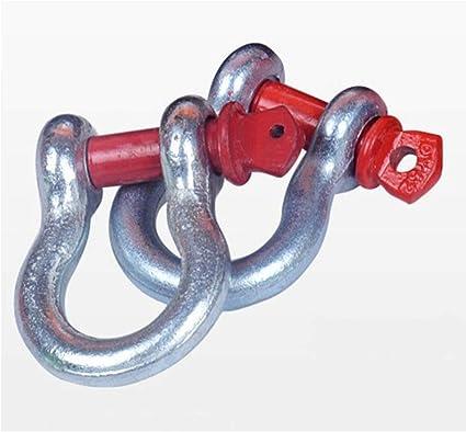 Doppio anello rinforzato per garantire la massima sicurezza Funi di traino Cinghie di traino pesanti Cinturino da traino 6 metri 10 tonnellate Sacca portaoggetti e 2 ganci a U inclusi