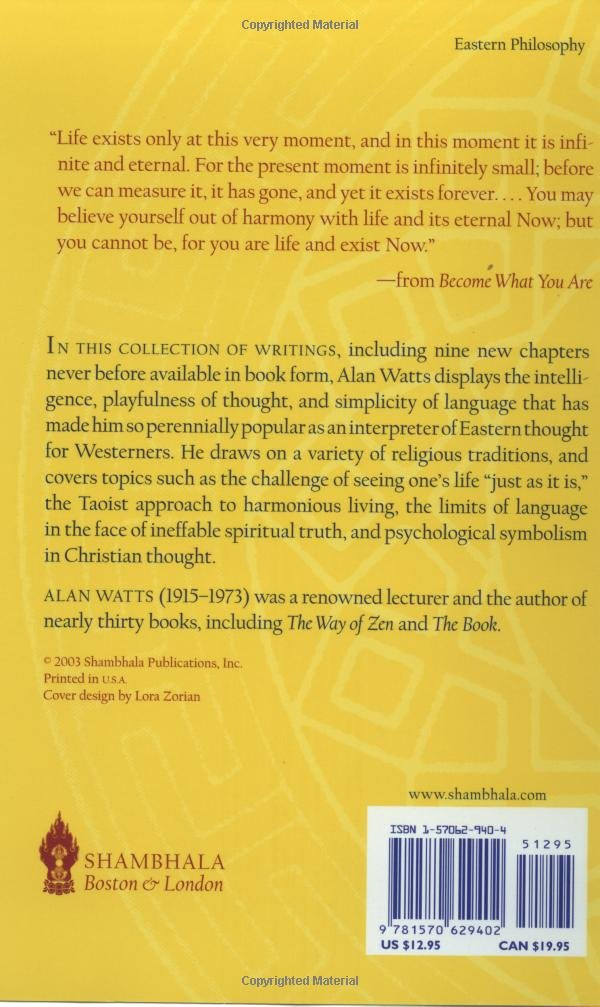 The Book Alan Watts Pdf