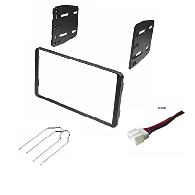 Car Stereo Dash Kit, Wire Harness, and Radio Tool for Installing a Double Din Radio for Some Ford Vehicles - See Compatible Vehicles Below- No Factory Premium Amp: Car Electronics