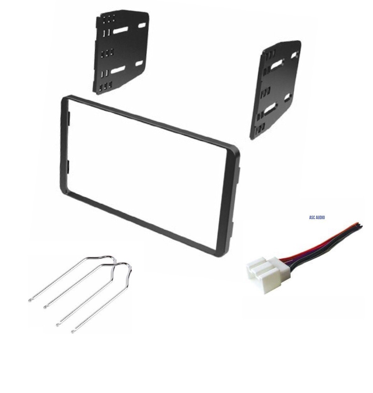 Car Stereo Dash Kit Wire Harness And Radio Tool For Dodge Wiring Amazoncom Ram Installing A Double Din Some 1998 2008 Ford Econoline 1999 2003 F 150