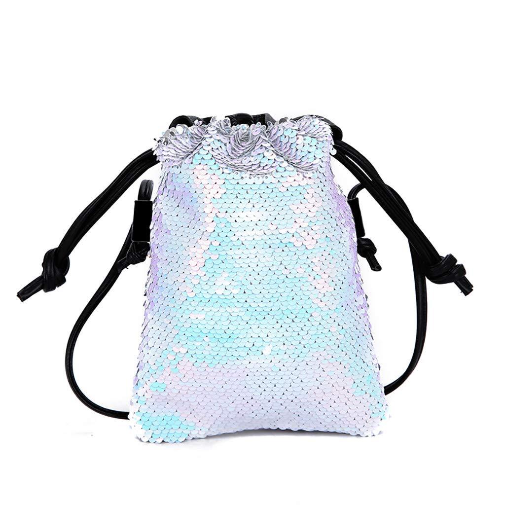 e04a36639bd3 Amazon.com: Women Small Bag Wild Messenger Bag Hook Bag Shoulder Bag ...