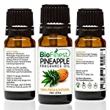 BioFinest Pineapple Fragrance Oil - 100% Pure & Natural - Fresh Home Scent - Air Refresher - Relaxing Aromatherapy - Skin and Hair Care - FREE E-Book (10ml)