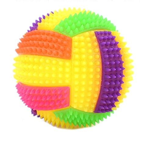 FancyswES8eety Pelota de Voleibol Hinchable Intermitente Luz LED ...