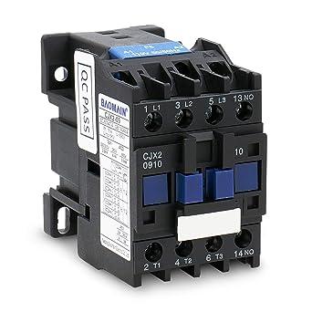 CJX2-0910 AC Contactor 3 Pole 1NO 220V