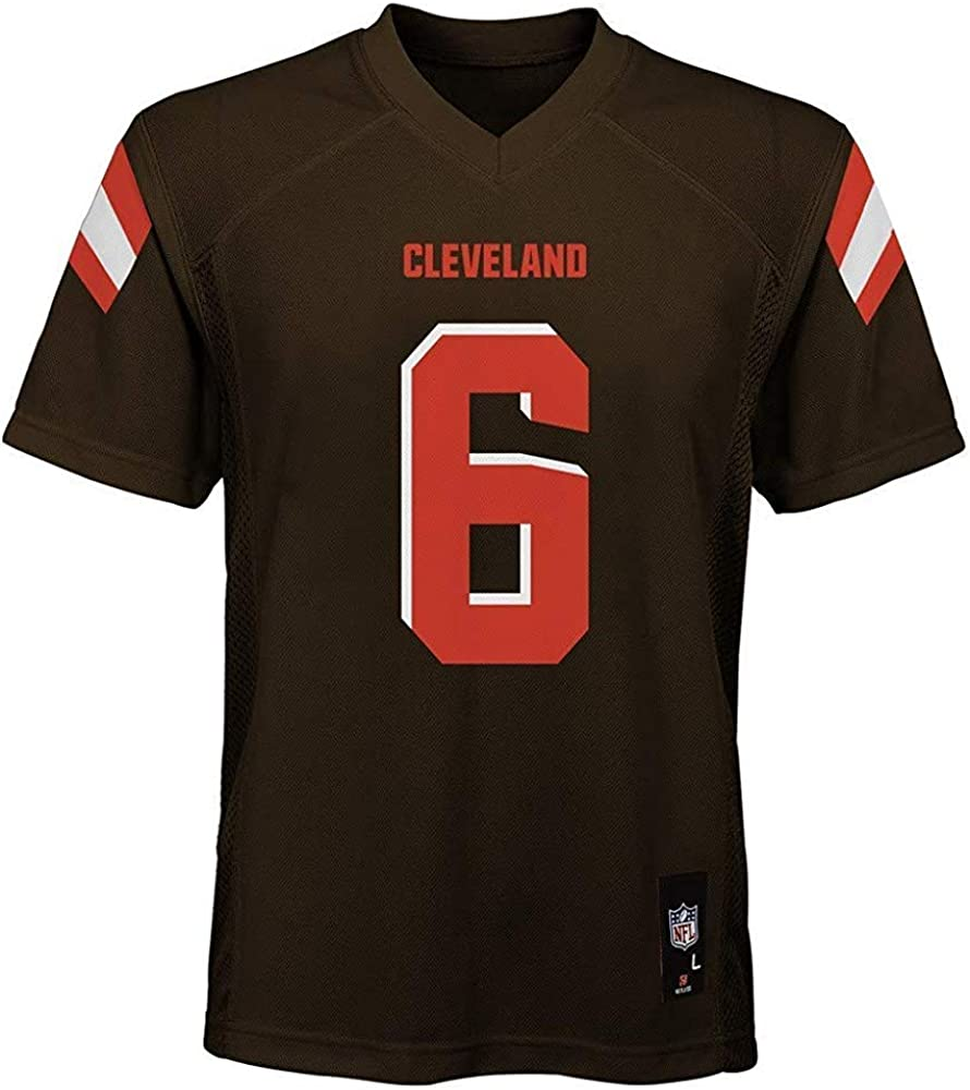 Baker Mayfield Cleveland Browns NFL Youth 8-20 Brown Home Mid-Tier Jersey
