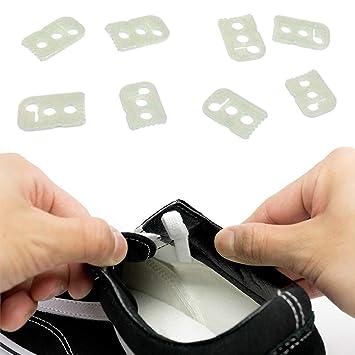 62684f164d00b Amazon.com: No Tie Shoelace Locks - Lace Anchors 2.0 - Never Tie ...