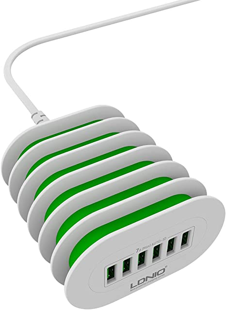 Chargeur Mural 6 Ports USB LDNIO A6702 7A