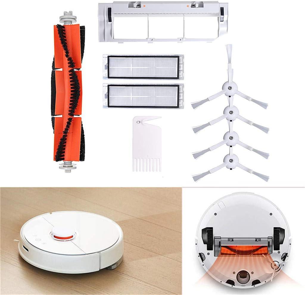 Rifuli® Accesorios para aspiradora Vacuum Cleaner Replacement Parts Suitable for XIAOMI Robot Vacuum Main Brush Hauptbürstenfilter Seitenbürsten accesorios 0510#008: Amazon.es: Hogar