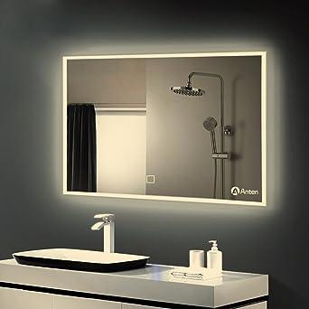 Anten Lampe Lampe Led Miroir De Bain Miroir Lampe Applique Murale