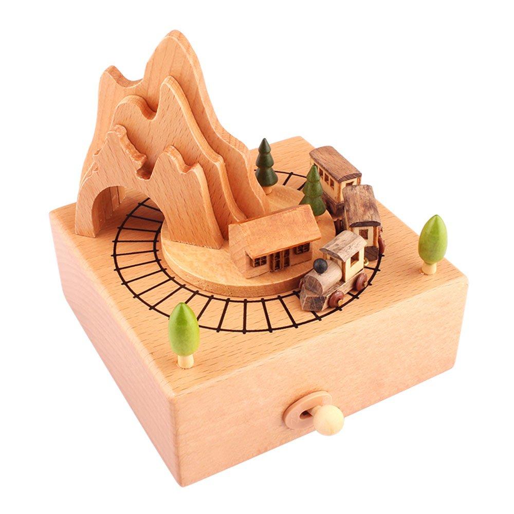MBXLBIG Spieluhren Spieldose Musikbox Mädchen Geburtstagsgeschenk senden Mädchen kreative Kinder Musik Box zu Spieluhr Weihnachten Neujahr Geschenk