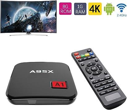 Android 6.0 TV Box A1 Caja Amlogic 905X Quad Core Cortex A53 ...