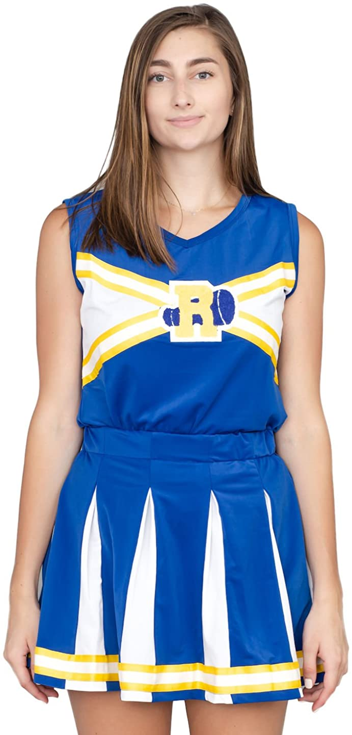 Welp Amazon.com: Riverdale Cheerleader High School Costume Outfit: Clothing KH-64
