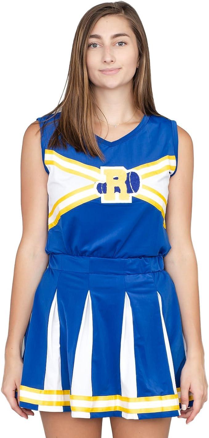 Veronica Archie Comic Riverdale Cheerleader Dress Up Halloween Adult Costume