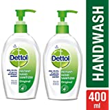 DettolGerm Protection Instant Hand Sanitizer - 200 ml (Original, Pack of 2)
